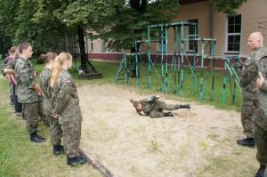 ćwiczenei pozycji do lądowania II