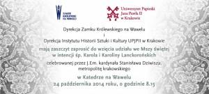 zaproszenie_msza_lanckorońska