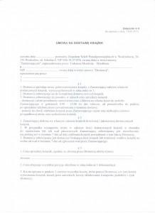 Załącznik nr 4 -wzór umowy strona 1